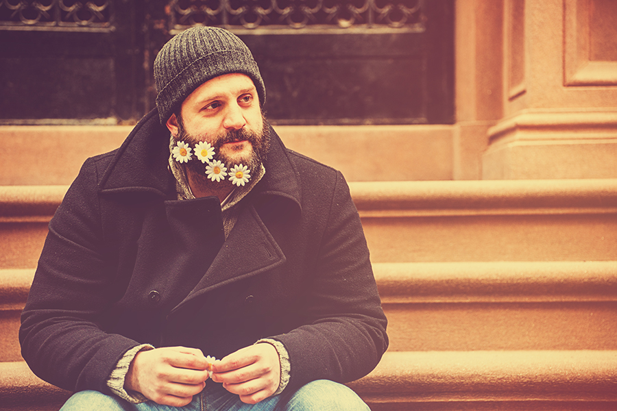 Flower Beard, NYC
