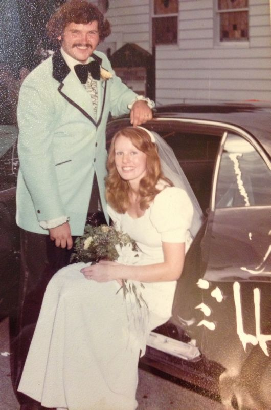 My parents' wedding