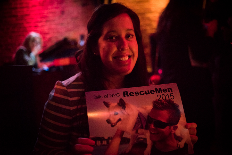 Tails of NYC RescueMen 2015 Calendar Launch Event