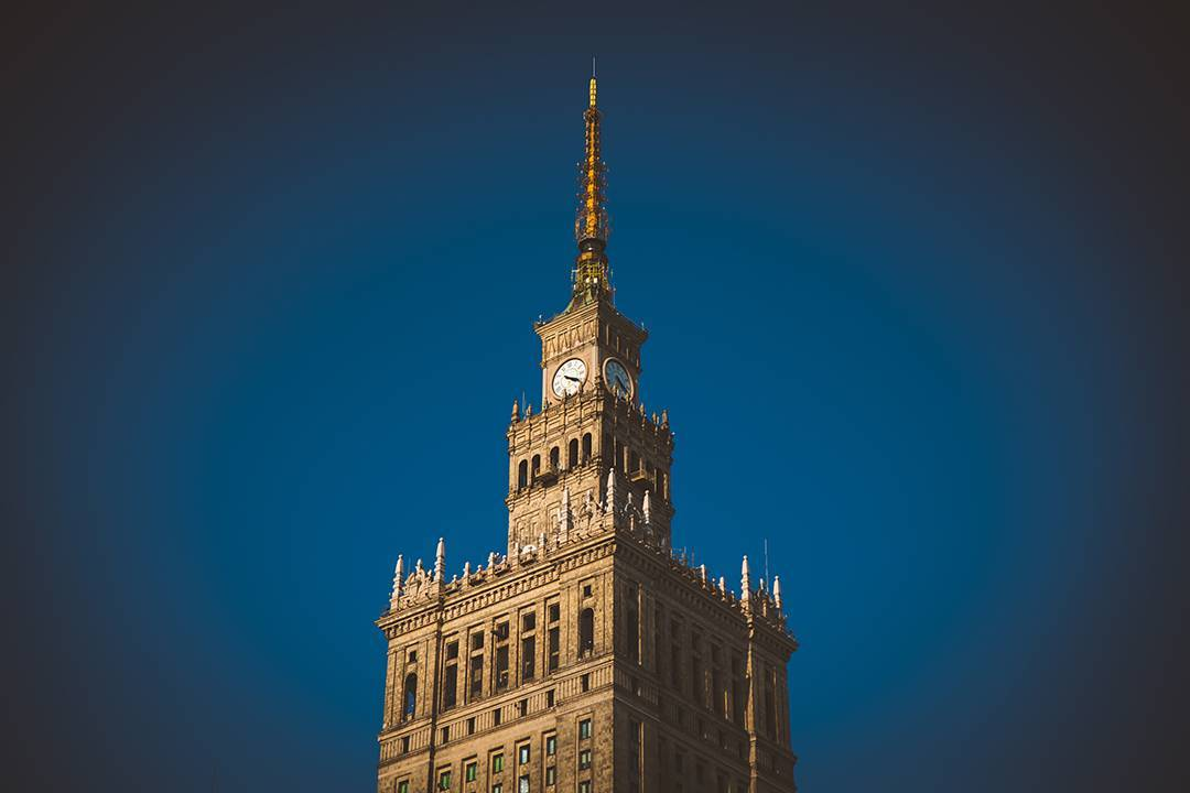 Warsaw's Palace of Culture and Science, the tallest building in Poland, was a gift from Stalin in Russia in 1955 to impress the Poles with the wealth of Communism. But at this point, Warsaw was still in ruins from World War II, so it was kiiiiiiiiind of gauche to drop this giant fancy building in the middle of a bombed-out neighborhood. On the other hand, constructing it gave jobs to thousands of Poles, and it's now filled with museums, a theater, and some really cute bars where young artists hang out.